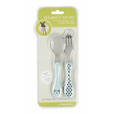 Lassig Little Chums Stainless Steel Cutlery Cat