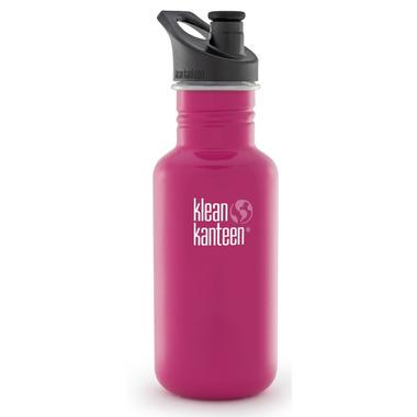 Klean Kanteen Classic Water Bottle with Sport Cap Dragon Fruit