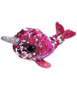 Ty Flippable Teeny Ty Nelly the Pink Narwhal Sequin