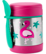 Skip Hop Zoo Insulated Food Jar Flamingo