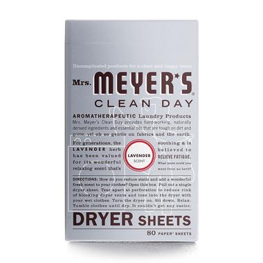 Mrs. Meyer\'s Clean Day Lavender Dryer Sheets