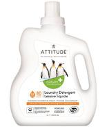 ATTITUDE Nature+ Laundry Detergent Citrus Zest