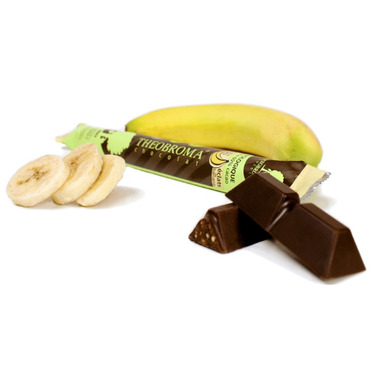 Theobroma Banana Chunks Dark Chocolate Stick