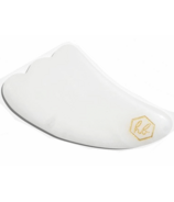 Honey Belle Gua Sha Facial Tool White Jade
