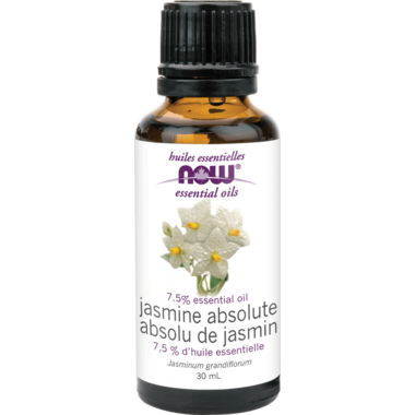 NOW Essential Oils Jasmine Absolute Blend