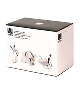 Umbra Origami Ring Holder 3 Pack Chrome