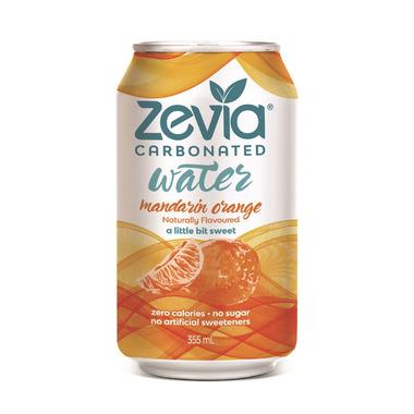 Zevia Mandarin Orange Sparkling Water