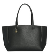 ela Large Tote Pebble Black