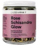 Lake & Oak Tea Co. Rose Schisandra Glow Superfood Tea Blend