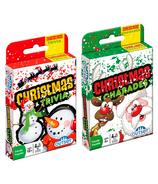 Christmas Family Fun Card Games Bundle