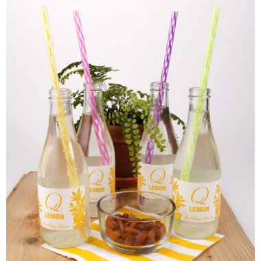 Kikkerland Rainbow Reusable Straws