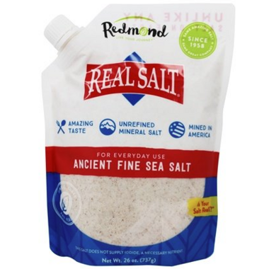Redmond Real Salt Nature\'s First Sea Salt