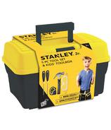 Stanley Jr. 5 Piece Tool Set & Tool Box