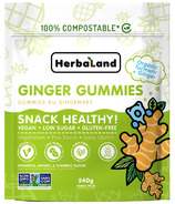 Herbaland Snack Healthy Packs Pineapple Ginger