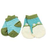 Little Blue House Baby Socks 2Pack - Frog