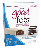 Love Good Fats Cookies & Cream Bar Case