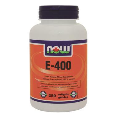 NOW Foods Vitamin E-400 IU 100% Natural Mixed Tocopherols