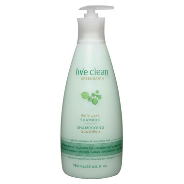 Live Clean Green Earth Daily Care Shampoo