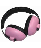 Banz Bluetooth Earmuffs Baby Mini Pink