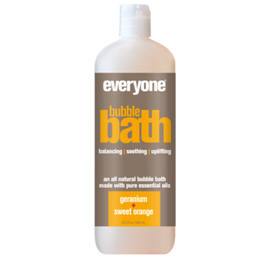 EO Everyone Bubble Bath Geranium + Sweet Orange