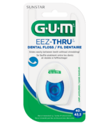 GUM Eez-Thru Dental Floss Unflavored