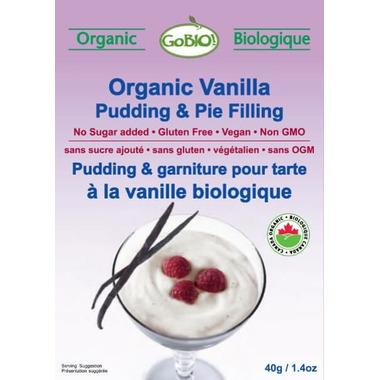 GoBio Organic Vanilla Pudding