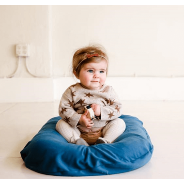 Snuggle Me Organic Lounger with Cover Blue Spruce