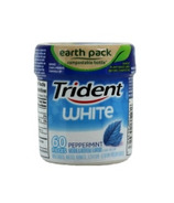 Trident White Peppermint Sugar-Free Gum Bottle