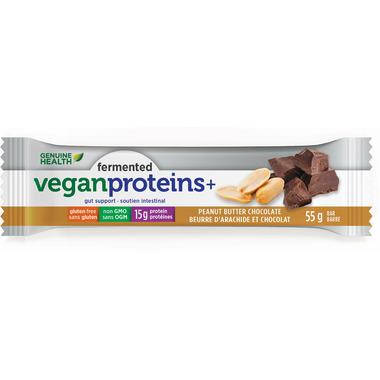 Genuine Health Fermented Vegan Proteins+ Bar