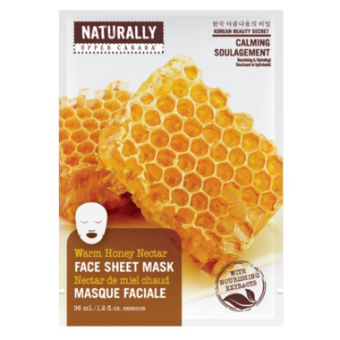 Naturally Upper Canada Honey Face Mask