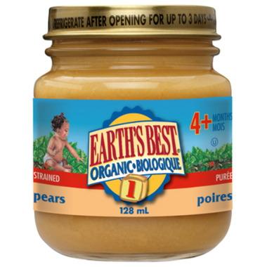 Earth\'s Best Organic Baby Food