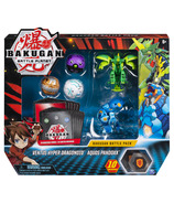 Bakugan Battle Pack Ventus Hyper Dragonoid & Aquos Pandoxx Cards & Figures