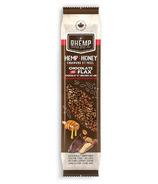 O-Hemp Hemp and Honey Chocolate Flax Seed Snack Bar