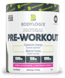 Bodylogix Natural Pre-Workout Pink Lemonade