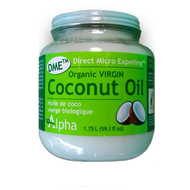 Alpha DME Virgin Coconut Oil
