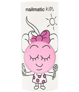 nailmatic Water-Based Nail Polish For Kids Dolly Pearly Neon Pink
