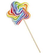 Cupcakes & Cartwheels Rainbow Star Lollipop