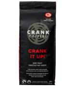 Crank Coffee Crank It Up Whole Bean Dark Roast