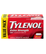 Tylenol Extra Strength 500 mg Acetaminophen Pain Reliever & Fever Reducer