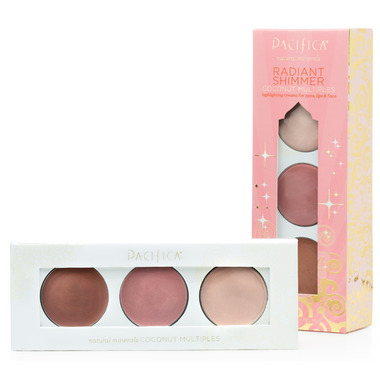 Pacifica Radiant Shimmer Highlighting Creams For Eyes Lips Face