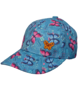 Calikids Baseball Cap Blue Butterfly