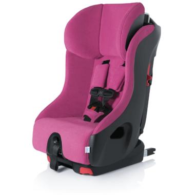 Clek Foonf Convertible Car Seat with Anti-Rebound Bar in Flamingo
