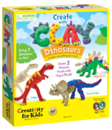 Creativty for Kids Create with Clay Dinosaurs