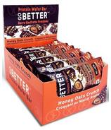 Go Better Honey Oats Crunch Protein Wafer Bar