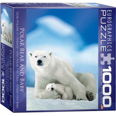 Eurographics Polar Bear and Baby Puzzle