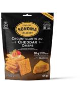 Sonoma Creamery Cheddar Crisps Cheese Snacks