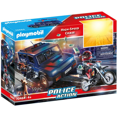 Playmobil Police Action High-Speed Chase