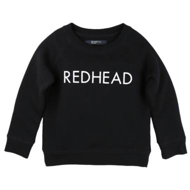 BRUNETTE the Label Redhead Black