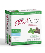 Suzie's Good Fats Mint Chocolate Chip Snack Bars