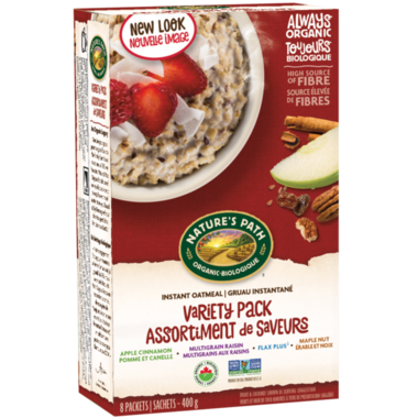 Nature\'s Path Organic Instant Oatmeal Variety Pack